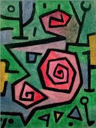 """Paul Klee, """"Heldenmutige Rosen"""""""